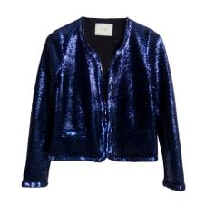 Blazer, veste tailleur MAJE Bleu, bleu marine, bleu turquoise