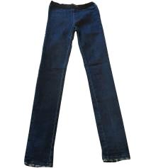 Pantalon slim, cigarette ZADIG & VOLTAIRE Bleu, bleu marine, bleu turquoise