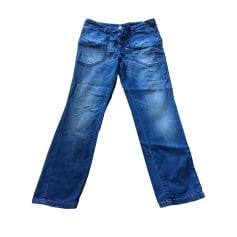Jeans large, boyfriend ZADIG & VOLTAIRE Bleu, bleu marine, bleu turquoise