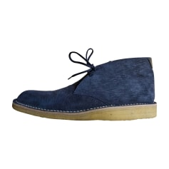 Ankle Boots LOUIS VUITTON Blue, navy, turquoise