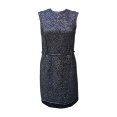 Midi-Kleid LANVIN Silberfarben, stahlfarben