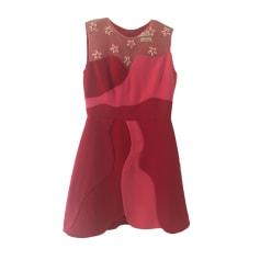 Mini Dress SANDRO Red, burgundy