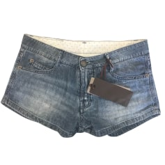 Shorts ERMANNO SCERVINO Blue, navy, turquoise