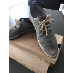 Lace Up Shoes N.D.C. MADE BY HAND Gray, charcoal