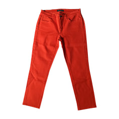 Straight-Cut Jeans  RALPH LAUREN Orange