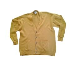 Vest, Cardigan ALAIN MANOUKIAN Yellow