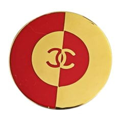 Spilla CHANEL Dorato, bronzo, rame