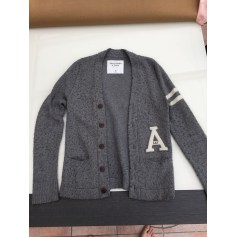 Gilet, cardigan ABERCROMBIE & FITCH Gris, anthracite