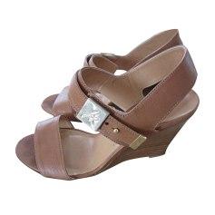 Sandales compensées SONIA RYKIEL Beige, camel