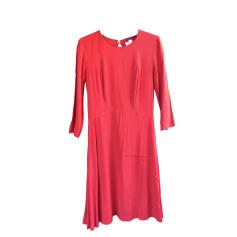 Backless Dress SANDRO Orange corail