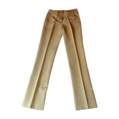 Tailleur pantalon RED VALENTINO Beige, camel
