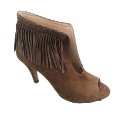 High Heel Ankle Boots PABLO DE GERARD DAREL Beige, camel