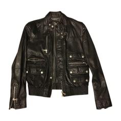 Leather Jacket DOLCE & GABBANA Black