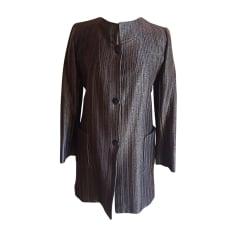 Coat YVES SAINT LAURENT Brown