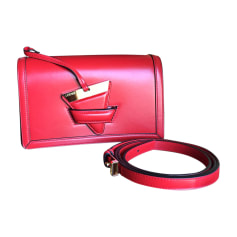 Borsa a tracolla in pelle LOEWE Rosso, bordeaux