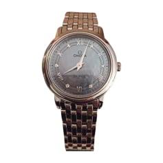 Orologio da polso OMEGA Argentato, acciaio