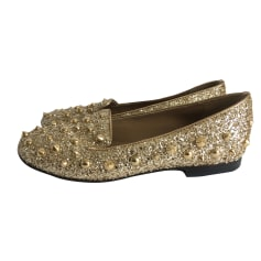 Ballet Flats PINKO Golden, bronze, copper