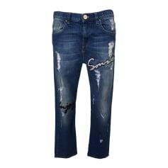 Boyfriend-Jeans PINKO Blau, marineblau, türkisblau