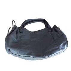 Leather Handbag GERARD DAREL Gray, charcoal