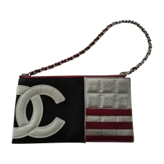 Clutch CHANEL Blue, navy, turquoise