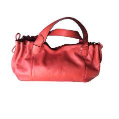 Leather Handbag GERARD DAREL Red, burgundy