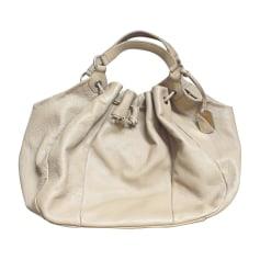 Leather Oversize Bag FURLA Beige, camel