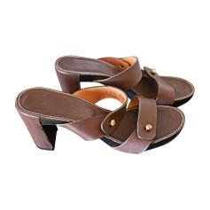 Heeled Sandals ROBERT CLERGERIE Brown
