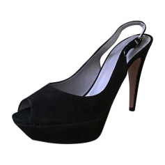 Peep-Toe Pumps SERGIO ROSSI Black