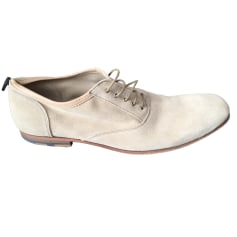 Lace Up Shoes HESCHUNG Beige, camel