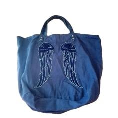 Non-Leather Handbag BERENICE Blue, navy, turquoise