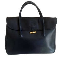 Leather Handbag LONGCHAMP NOIR