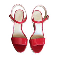 Sandales compensées MICHAEL KORS Rouge