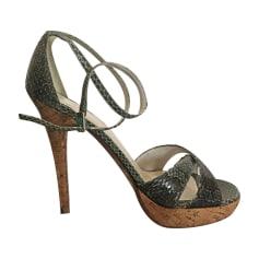 Sandales Pour Les Femmes En Vente, Noir, Cuir, 2017, 36 36 37 38 39 40 Weitzman Stuart