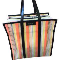 Stofftasche groß BALENCIAGA Bazar Orange