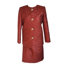 Skirt Suit GIVENCHY Red, burgundy
