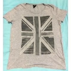 Tee-shirt H&M Gris, anthracite