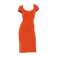 Mini Dress DIANE VON FURSTENBERG Orange
