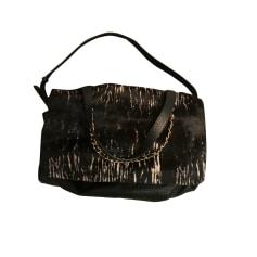 Leather Handbag AUDREYLBD Black
