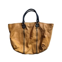 Leather Shoulder Bag ZADIG & VOLTAIRE Yellow
