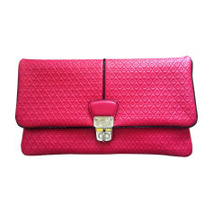 Leather Clutch TOD'S Pink, fuchsia, light pink