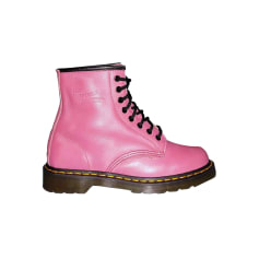 Bottines & low boots à talons DR. MARTENS Rose, fuschia, vieux rose