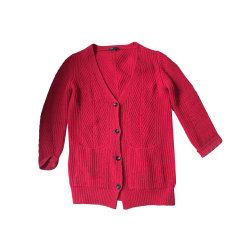 Strickjacke, Cardigan MAJE Rot, bordeauxrot