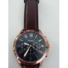 Armbanduhr FOSSIL Braun