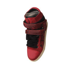 Sneakers MAJE Red, burgundy
