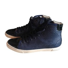 Sneakers LANVIN Blue, navy, turquoise