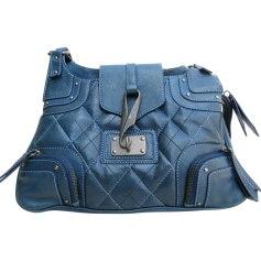 Sac à main en cuir KENZO Bleu, bleu marine, bleu turquoise