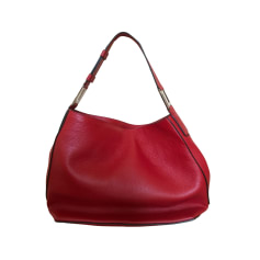 Leather Handbag LANCEL Pink, fuchsia, light pink