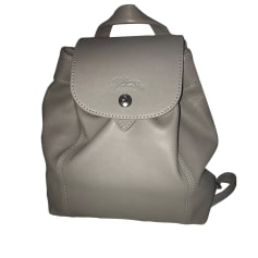 Backpack LONGCHAMP Silver