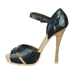 Peep-Toe Pumps BARBARA BUI Blue, navy, turquoise