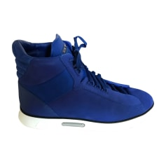 Baskets LOUIS VUITTON Bleu, bleu marine, bleu turquoise
